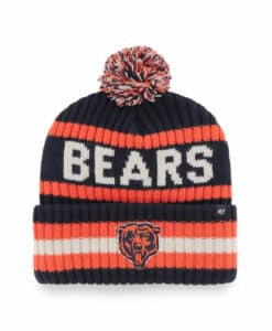Chicago Bears 47 Brand Navy Bering Cuff Knit Hat