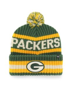 Green Bay Packers 47 Brand Dark Green Bering Cuff Knit Hat