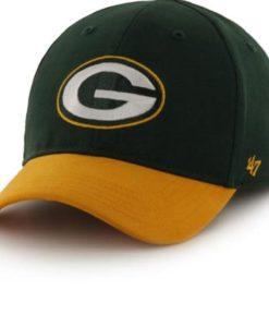 Green Bay Packers INFANT 47 Brand Dark Green MVP Adjustable Hat