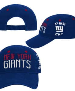 New York Giants INFANT Baby Blue My First Cap Hat