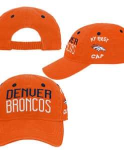 Denver Broncos INFANT Baby Orange My First Cap Hat