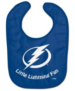 Tampa Bay Lightning All Pro Little Fan Baby Bib