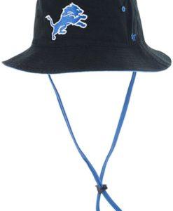 Detroit Lions 47 Brand Black Kirby Bucket Hat