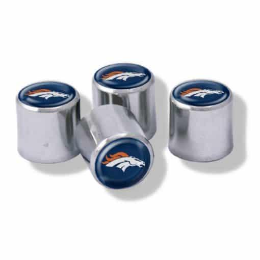 Denver Broncos Tire Valve Stem Caps