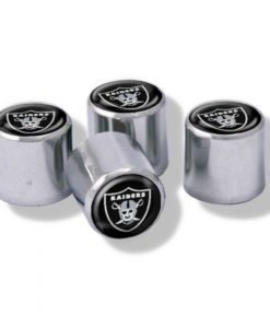 Las Vegas Raiders Tire Valve Stem Caps