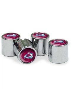 Colorado Avalanche Tire Valve Stem Caps