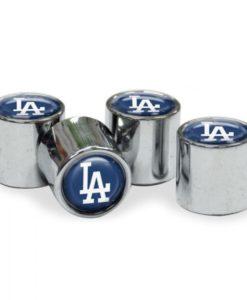 Los Angeles Dodgers Tire Valve Stem Caps