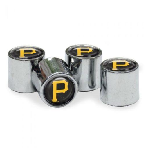 Pittsburgh Pirates Tire Valve Stem Caps