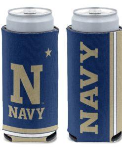 Navy Midshipmen 12 oz Navy Slim Can Cooler Holder