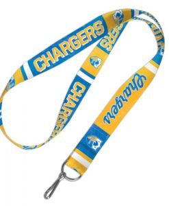Los Angeles Chargers Classic Logo Retro Lanyard