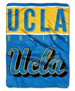 UCLA Bruins 60x80 Raschel Blanket