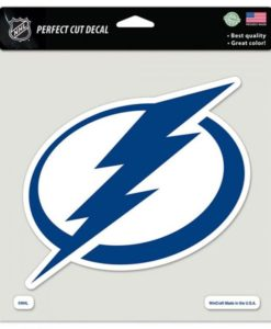 """Tampa Bay Lightning Color Perfect Cut Decal 8"""" x 8"""""""