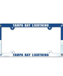 Tampa Bay Lightning License Plate Frame Full Color