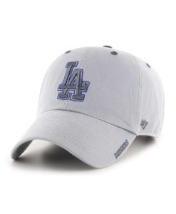 Los Angeles Dodgers 47 Brand Gray Storm Ice Clean Up Adjustable Hat