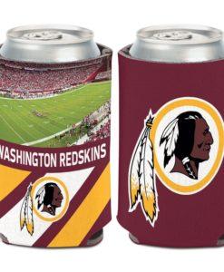 Washington Football Classic 12 oz Football Field Maroon Can Cooler Holder