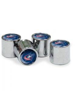 Columbus Blue Jackets Tire Valve Stem Caps