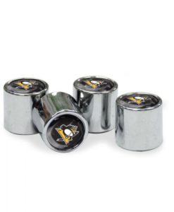 Pittsburgh Penguins Tire Valve Stem Caps
