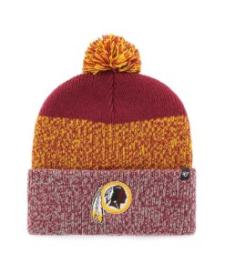 Washington Football Classic Cardinal Static Cuff Knit Hat