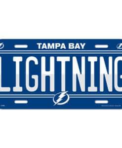 Tampa Bay Lightning License Plate