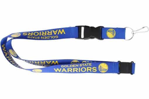 Golden State Warriors Blue Lanyard
