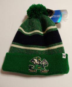 Notre Dame Fighting Irish Fairfax Cuff Knit Green 47 Brand Hat