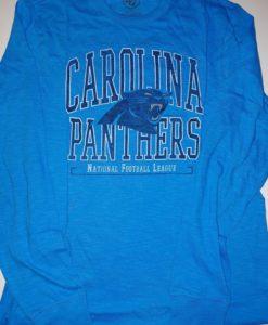 Carolina Panthers Scrum Long Sleeve Shirt Mens Glacier Blue 47 Brand