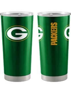 Green Bay Packers Ultra Green 20 oz Travel Tumbler