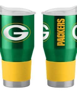 Green Bay Packers Ultra Twist Green 24 oz Travel Tumbler
