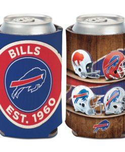 Buffalo Bills 12 oz Evolution Blue Can Cooler Holder