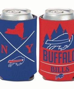 Buffalo Bills 12 oz Hipster Blue Can Cooler Holder