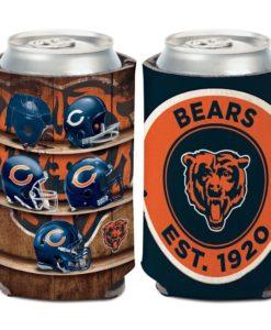 Chicago Bears 12 oz Evolution Black Can Cooler Holder