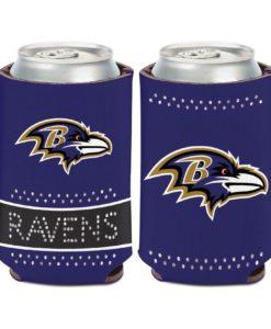 Baltimore Ravens 12 oz Bling Purple Can Cooler Holder