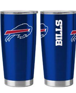 Buffalo Bills Ultra Blue 20 oz Travel Tumbler