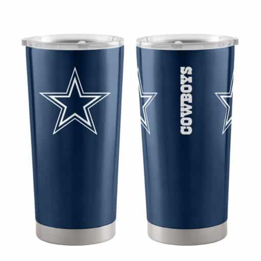 Dallas Cowboys Ultra Blue 20 oz Travel Tumbler