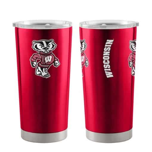 Wisconsin Badgers Ultra Red 20 oz Travel Tumbler