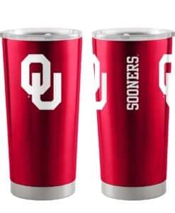 Oklahoma Sooners Ultra Red 20 oz Travel Tumbler