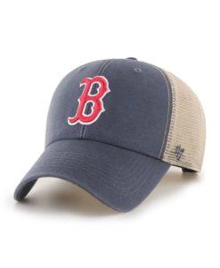 Boston Red Sox 47 Brand Vintage Navy MVP Mesh Snapback Hat