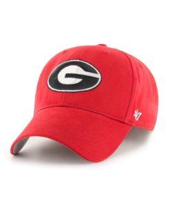 Georgia Bulldogs 47 Brand Red Basic MVP Adjustable Hat