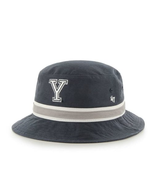 Yale Bulldogs 47 Brand Bright Navy Striped Bucket Hat