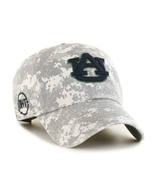 Auburn Tigers 47 Brand Digital Camo OHT Nilan Clean Up Adjustable Hat