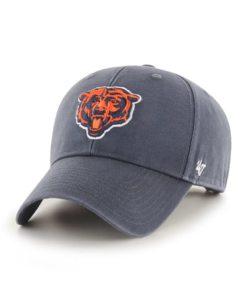 Chicago Bears 47 Brand Vintage Navy Legend MVP Adjustable Hat