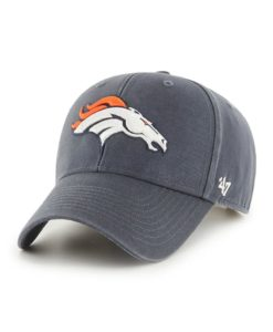 Denver Broncos 47 Brand Vintage Navy Legend MVP Adjustable Hat