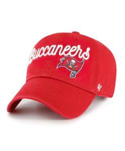 Tampa Bay Buccaneers Women's 47 Brand Millie Red Clean Up Adjustable Hat