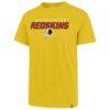 Washington Football Classic Men's 47 Brand Gold Rival T-Shirt Tee
