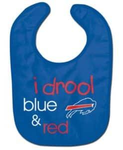 Buffalo Bills Baby Bib - All Pro I Drool Blue and Red
