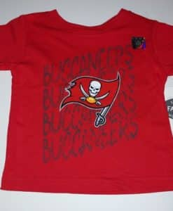Tampa Bay Buccaneers Baby Red T-Shirt Tee