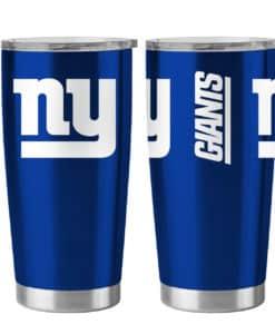New York Giants Ultra Blue 20 oz Travel Tumbler