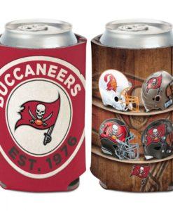 Tampa Bay Buccaneers 12 oz Evolution Red Can Cooler Holder