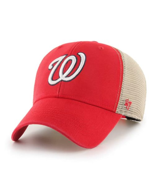 Washington Nationals 47 Brand Red MVP Mesh Snapback Hat