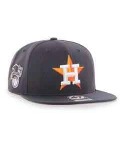 Houston Astros 47 Brand Navy Sure Shot Snapback Hat